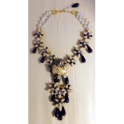 Swan Lapis Necklace