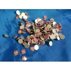 5.5mm Pink Pointed Rhinestone Flatbacks qty720