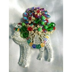 Christmas Camel brooch